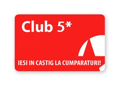 Card Club 5* - Card de fidelitate