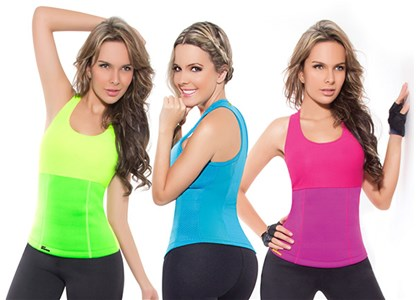 Fitness top Hot Shapers - na hubnutí břicha a boků