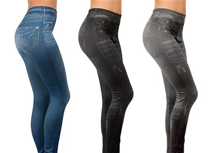 Slim Jeggings - set sadrži 3 para helanki